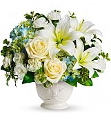Funeral Flowers: Beautiful Dreams Bouquet