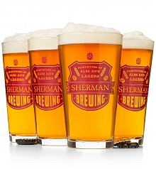 Personalized Keepsake Gifts: Purveyors of Ales Personalized Pint Glasses