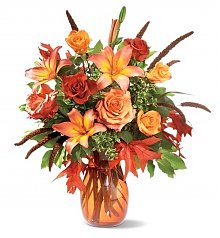 Flower Bouquets: Fall Grandeur